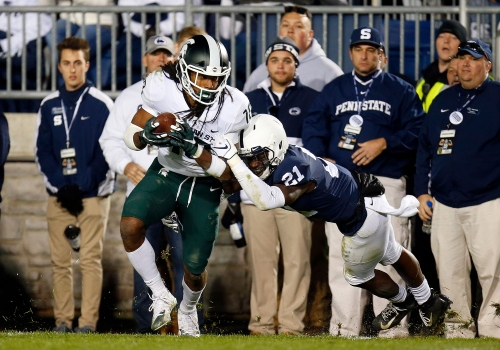 Michigan State football pulls off another shocking win over Penn State