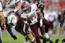 Aggies edge Gamecocks 26-23