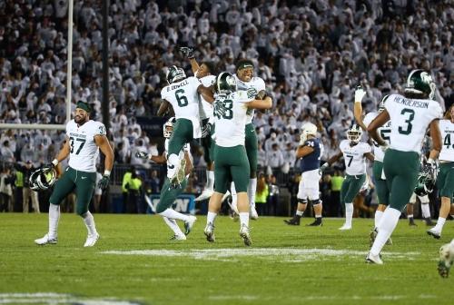 Michigan State football: Good grades for gutty effort, aggressiveness
