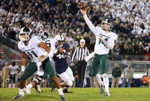 Gambling Dantonio, Spartans go all in, cash in vs. Penn State