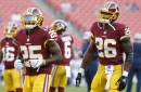 Redskins Injury Updates: Chris Thompson and Jamison Crowder not expected to play vs Panthers