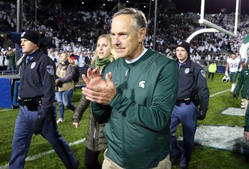 Michigan State football resurrects season on Mark Dantonio's genius