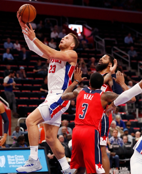 Detroit Pistons' Blake Griffin, fully healthy, out to silence doubters