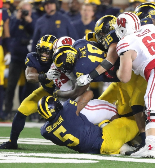 Michigan football ran over Wisconsin; can it do it vs. Spartans?
