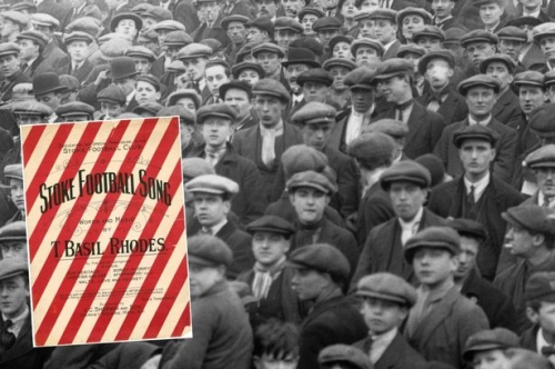 Revealed! Stoke's first ever football chant – written 106 years ago in campaign organised by inventor of the modern toilet