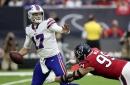Josh Allen leaves Buffalo Bills - Houston Texans with arm injury