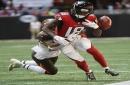 The Latest: Falcons' Ryan passes Montana on passing TD list