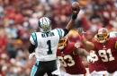 Josh Norman intercepts Cam Newton, Panthers lose at Washington
