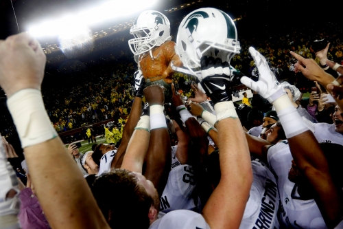 Michigan football an early 6½-point favorite vs. Michigan State
