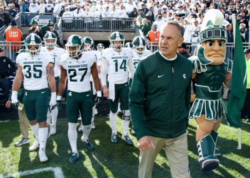 Mark Dantonio: Michigan State ready to build off upset win