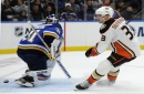 Ducks beat the Blues on Andrew Cogliano's third-period power-play goal
