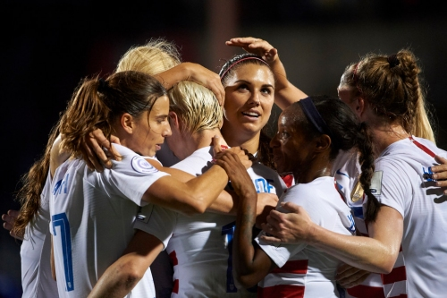 USWNT wastes no time establishing itself vs. Jamaica, clinches Women's World Cup berth with 6-0 win in Frisco