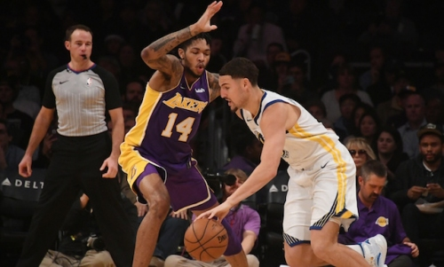 Warriors' Klay Thompson 'Definitely' Expects LeBron James To Lead Lakers To NBA Playoffs