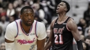 Heat's Dwyane Wade attests to improvement and important of Hassan Whiteside