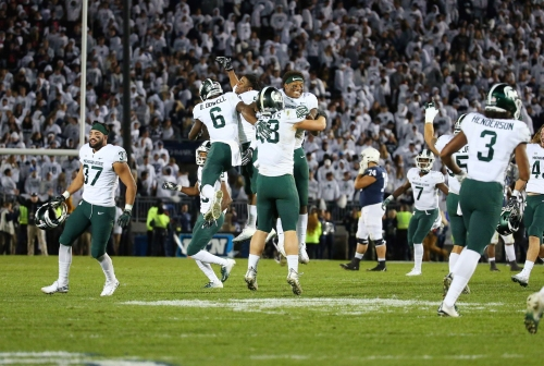 Spartans must move on from improbable win to focus on Michigan