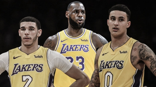 Lakers' young players not in awe of LeBron James