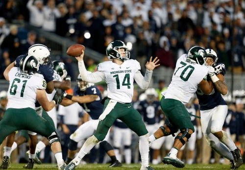 Michigan State football stock watch: Offensive line thrives with changes