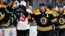 Bergeron, Rielly, Aho named NHL's 3 stars of the week