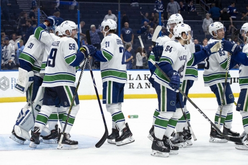 Pacific Division Roundup: The Canucks keep winning