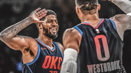 Paul George's evolving relationship with Russell Westbrook helped keep him with Thunder