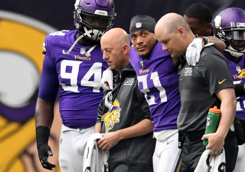 Vikings CB Mike Hughes out for the season with torn ACL