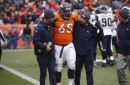 Broncos say guard Ronald Leary has torn Achilles