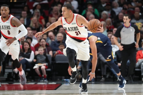 Blazers Middle of the Pack in Division