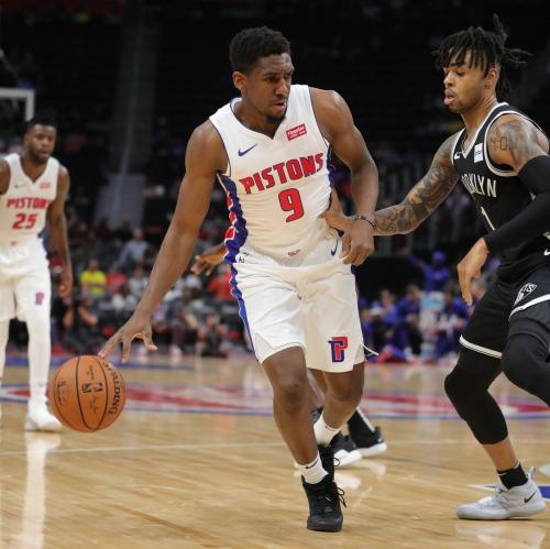 Detroit Pistons' Langston Galloway's fresh mentally aided by newborn