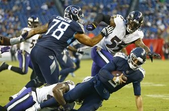 Titans' offense struggling with extended touchdown drought