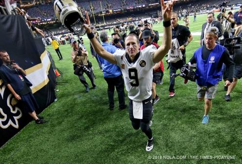 Saints a slight underdog at Baltimore Sunday