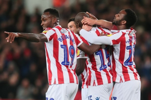 You can tell Stoke City changing room spirit is getting stronger, says coach