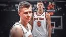 REPORT: Knicks decline to sign Kristaps Porzingis to rookie extension