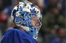 Toronto Maple Leafs Frederik Andersen Day To Day With Knee Injury