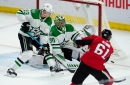 Why Stars coach Jim Montgomery's decision to split one of the NHL's top lines didn't pay off in loss to Senators