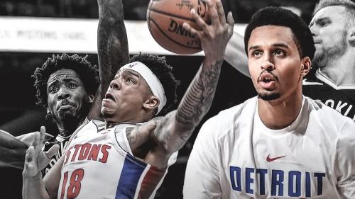 Pistons convert Zach Lofton's contract into 2-way deal, waive Reggie Hearn