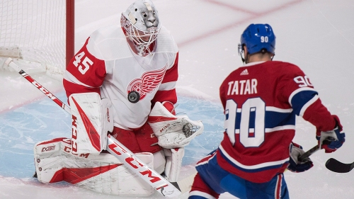 Canadiens' Tomas Tatar opening eyes with hot start