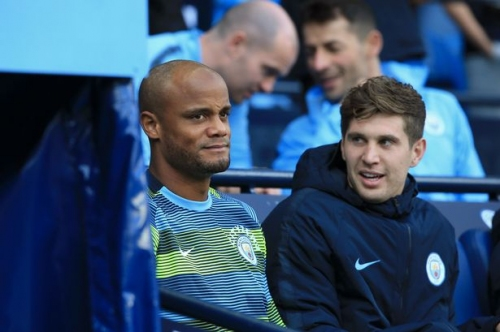 Vincent Kompany asked about new Man City contract