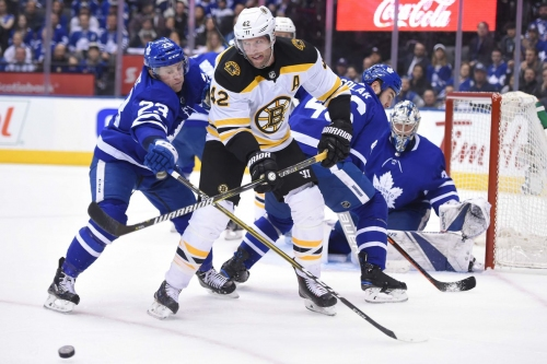 David Backes has returned to center, and he should stay there