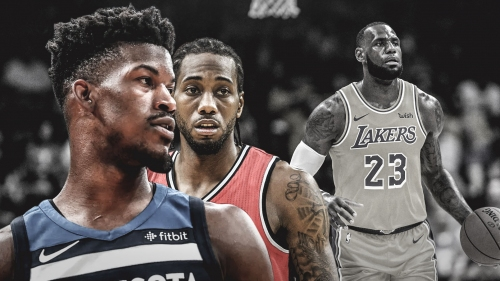 Whispers around league say Jimmy Butler, Kawhi Leonard don't want to play with LeBron James