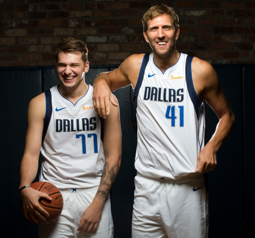 As the NBA season begins tonight, your Dallas Mavericks lead the league with the most international players (7)