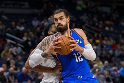 Bleacher Report ranks Stevens Adams as the NBA's 9th best center