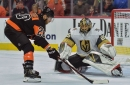 Hear from Claude Giroux, Scott Laughton, Dave Hakstol and more following Saturday's loss to the Vegas Golden Knights