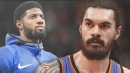 Thunder's Steven Adams on Paul George's free agency: 'I don't keep up with that s***, mate'
