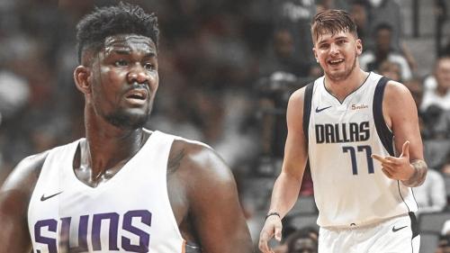 Suns' Deandre Ayton details relationship with Mavs rookie Luka Doncic
