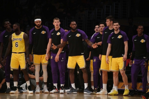 """LeBron James Considers Himself """"Just One Of The Guys"""" When Compared To Lakers Young Core"""