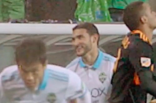 Cristian Roldan's reaction to Kim Kee-hee's Cruyff turn was all of us