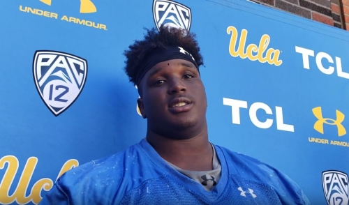 Video: Christaphany Murray on moving back to guard for UCLA