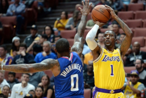 Lakers News: Luke Walton Leaning Towards Rajon Rondo, Kentavious Caldwell-Pope Starting Backcourt