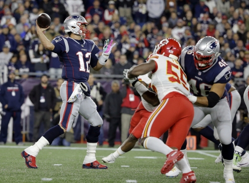 How the New England Patriots toppled the AFC's last unbeaten team
