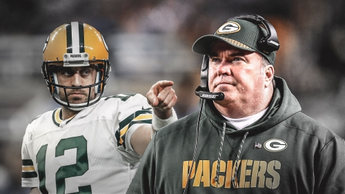 Packers news: Mike McCarthy unsure on when Aaron Rodgers will shed knee brace
